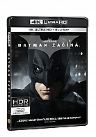 BATMAN ZAČÍNÁ 4K Ultra HD (3 Blu-ray)