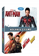 ANT-MAN 1 + 2 (Ant-Man + Ant-Man And The Wasp) Kolekce (2 Blu-ray)