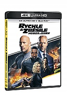 RYCHLE A ZBĚSILE: HOBBS A SHAW (4K Ultra HD + Blu-ray)